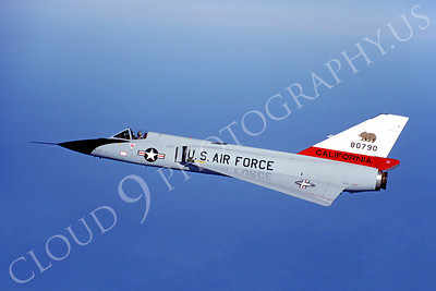 F-106ANG 00078 Convair F-106A Delta Dart California Air National Guard 80790 October 1981 by Peter J Mancus