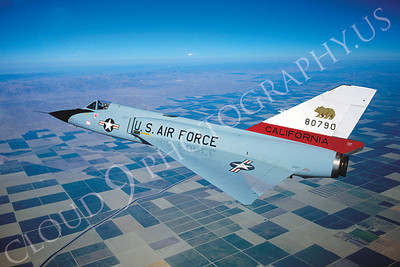 F-106ANG 00098 Convair F-106A Delta Dart California Air National Guard 80790 October 1981 by Peter J Mancus  BU