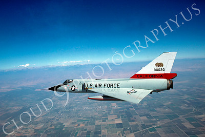 F-106ANG 00148 Convair F-106A Delta Dart California Air National Guard 90020 October 1981 by Peter J Mancus