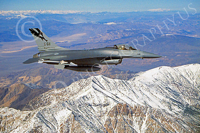 F-16ANG 00124 Lockheed Martin F-16 Fighting Falcon California Air National Guard 80611 by John Petersen