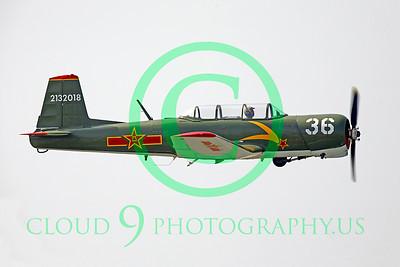 WB - Nanchang CJ-6 00018 Nanchang CJ-6 warbird by Peter J Mancus