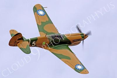 WB - Curtiss P-40 00052 Curtiss P-40 Warhawk warbird by Peter J Mancus