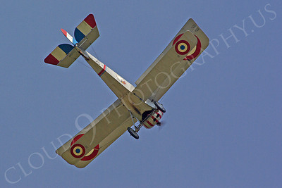 WWI - Nieuport 17 Scout 00008 An in-flight Nieuport 17 Scout World War I era French fighter plane warbird, by Stephen W D Wolf