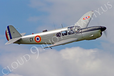 WB - Nord 1101 00002 Nord 1101 French Air Force warbird airplane picture by Stephen W D Wolf