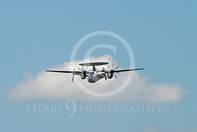 E-2Forg 00030 Grumman E-2 Hawkeye French Navy military airplane picture by Stephen W D Wolf