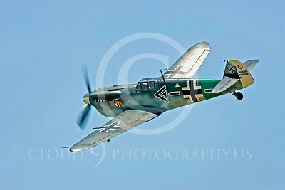 WB - Bf-109 00120 Messerschmitt Bf-109 fighter German World War II Luftwaffe by Peter J Mancus