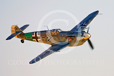 WB - Bf-109 00058 Messerschmitt Bf-109 fighter German World War II Luftwaffe by Peter J Mancus