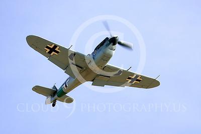 WB - Bf-109 00032 Messerschmitt Bf-109 fighter German World War II Luftwaffe by Peter J Mancus