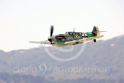 WB - Bf-109 00100 Messerschmitt Bf-109 fighter German World War II Luftwaffe by Peter J Mancus