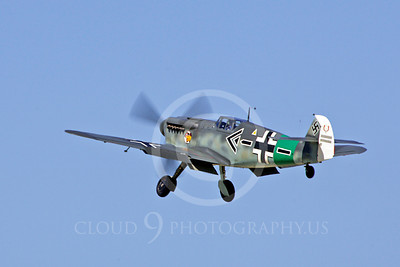 WB - Messerschmitt Bf-109 00122 Messerschmitt Bf-109 German World War II fighter warbird by Peter J Mancus