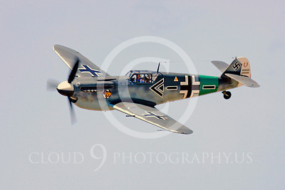 WB - Bf-109 00110 Messerschmitt Bf-109 fighter German World War II Luftwaffe by Peter J Mancus
