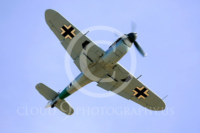 WB - Bf-109 00076 Messerschmitt Bf-109 fighter German World War II Luftwaffe by Peter J Mancus