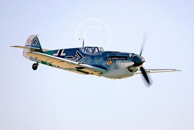 WB - Bf-109 00070 Messerschmitt Bf-109 fighter German World War II Luftwaffe by Peter J Mancus