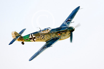 WB - Bf-109 00086 Messerschmitt Bf-109 fighter German World War II Luftwaffe by Peter J Mancus