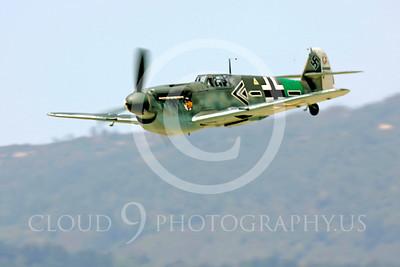 WB - Bf-109 00030 Messerschmitt Bf-109 fighter German World War II Luftwaffe by Peter J Mancus