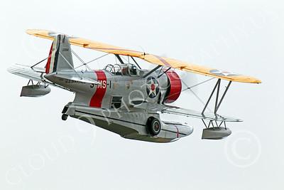 WB - Grumman J2F Duck 00046 A flying USMC Grumman J2F Duck float plane warbird airplane picture by Peter J Mancus