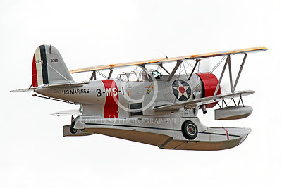 WB - Grumman J2F Duck 00016 A flying USMC Grumman J2F Duck float plane warbird by Peter J Mancus