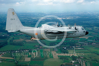 C-130Forg 00074 Lockheed C-130 Hercules Belgium Air Force September 1994 via African Aviation Slide Service