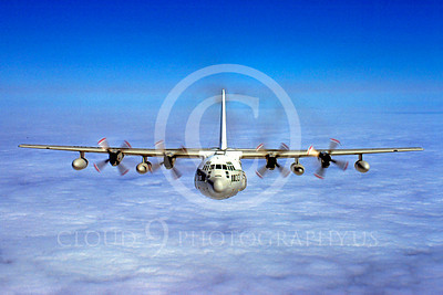C-130USMC 00030 Lockheed KC-130 Hercules USMC March 1985 by Peter J Mancus