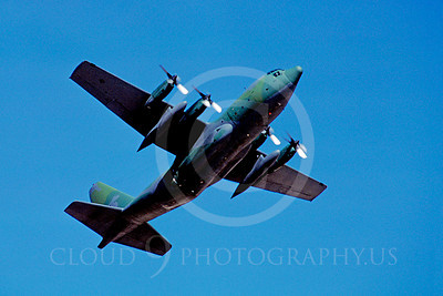 C-130USAF 00044 Lockheed C-130 Hercules USAF August 1986 by Peter J Mancus