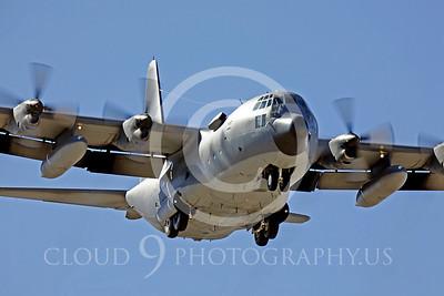 C-130USAF 00072 Lockheed C-130 Hercules USAF by Peter J Mancus