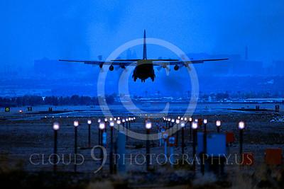 C-130USAF 00102 Lockheed C-130 Hercules USAF Nellis AFB November 2002 by Peter J Mancus