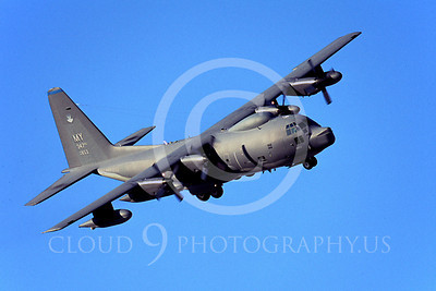 C-130USAF 00038 Lockheed MC-130 Hercules USAF 64853 MY by Peter J Mancus