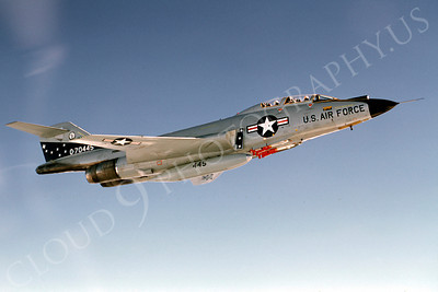 F-101BANG 00018 McDonnell F-101B Voodoo Minnesota Air National Guard 70445 September 1983 by Wayne Gatlin