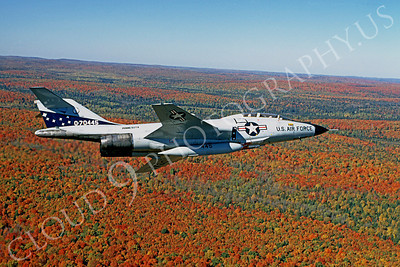 F-101BANG 00002 McDonnell F-101B Voodoo Minnesota Air National Guard 70445 October 1983 by Wayne Gatlin