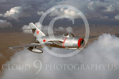 WB - MiG-15 00040 Mikoyan-Guryevich MiG-15 Soviet Union Air Force warbird markings by Peter J Mancus
