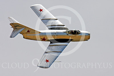 WB - MiG-15 00036 Mikoyan-Guryevich MiG-15 Soviet Union Air Force warbird markings by Peter J Mancus