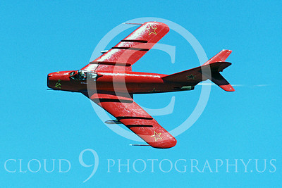 WB - MiG-17 00016 Mikoyan-Guryevich MiG-17 Fresco by Peter J Mancus