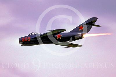 WB - MiG-17 00042 Mikoyan-Guryevich MiG-17 Fresco by Peter J Mancus