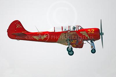 WB - Yakovlev Yak-52 00004 Yak-52 warbird by Peter J Mancus