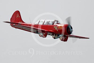 WB - Yakovlev Yak-52 00030 Yak-52 warbird by Peter J Mancus