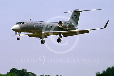 GulfstreamAerospaceForg 00002 Gulfstream Aerospace Gulfstream Swedish Air Force 021 19 July 1996 by Stephen W D Wolf