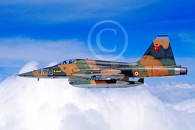 F-5Forg 00054 Northrop F-5E Freedom Fighter Turkish Air Force 8-194 by Soner Capoglu