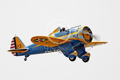 WB - Boeing P-26 Peashooter 00004 Boeing P-26 Peashooter by Peter J Mancus