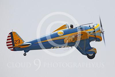 WB - Boeing P-26 Peashooter 00006 Boeing P-26 Peashooter by Peter J Mancus