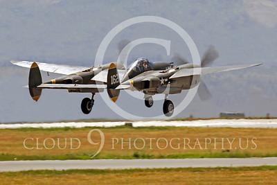 WB - Lockheed P-38 Lightning 00040 Lockheed P-38 Lightning Porky II by Peter J Mancus