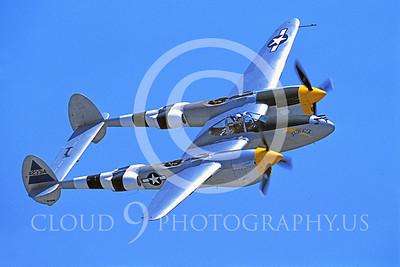 WB - Lockheed P-38 Lightning 00034 Lockheed P-38 Lightning Joltin' Josie by Peter J Mancus
