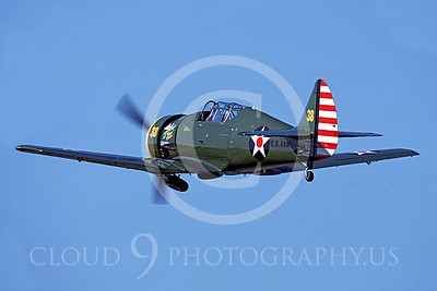 WB - Seversky P-35 00002 Seversky P-35 US Army Air Corps warbird by Peter J Mancus