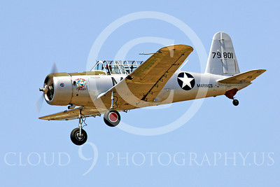 WB - Vultee BT-13 Valiant 00006 Vultee BT-13 Valiant by Peter J Mancus