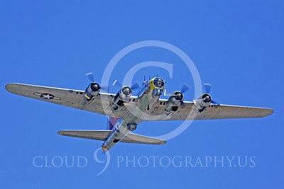 WB - B-17 00056 Boeing B-17G Flying Fortress Miss Angela by Peter J Mancus