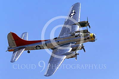 WB - B-17 00086 Boeing B-17G Flying Fortress Miss Angela by Peter J Mancus