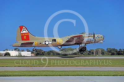 WB - B-17 00046 Boeing B-17G Flying Fortress by Peter J Mancus