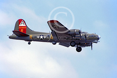 WB - B-17 00040 Boeing B-17G Flying Fortress by Peter B Lewis