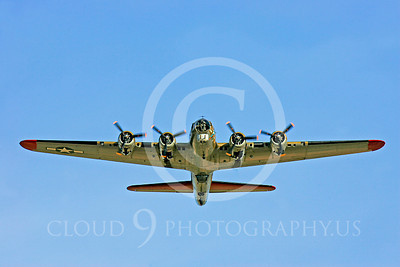 WB - B-17 00058 Boeing B-17G Flying Fortress by Peter J Mancus