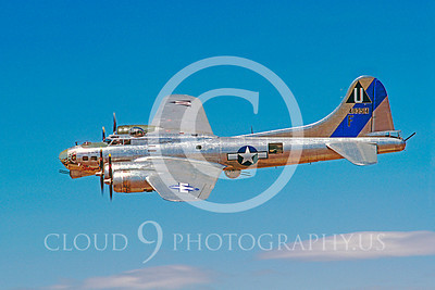 WB - B-17 00078 Boeing B-17G Flying Fortress Sentimental Journey by Carl E Porter