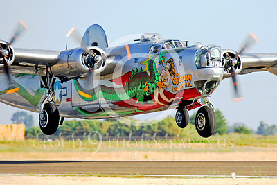 WB - Consolidated B-24 Liberator 00040 Consolidated B-24 Liberator The Dragon by Peter J Mancus